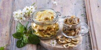 Chips de banana e maçã - @TeleCulinária