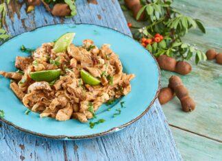 Pad thai de frango - @TeleCulinária