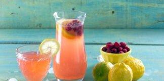 Pink lemonade- @Teleculinária