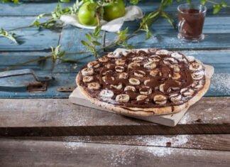 Pizza doce de banana - @TeleCulinária