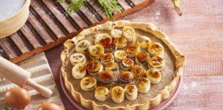 Tarte de banana - @TeleCulinária