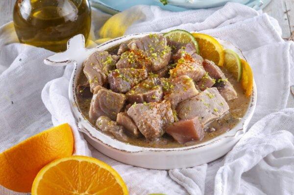 Ceviche de atum fresco -@Teleculinaria