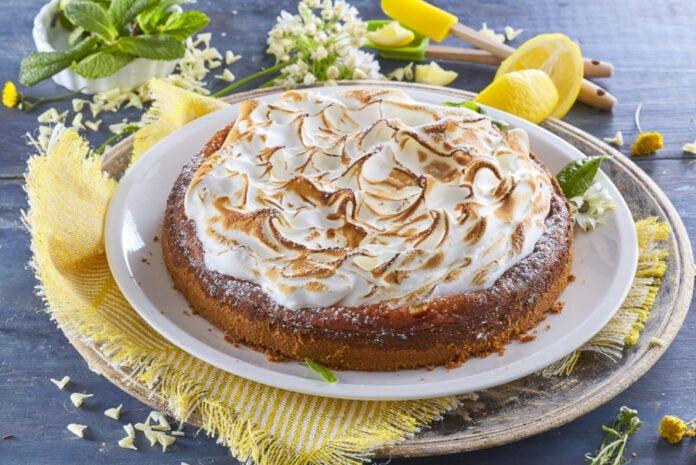 Cheesecake de limão merengado -@Teleculinaria