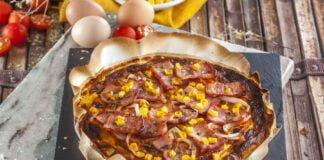 Piza omelete -@Teleculinaria