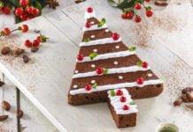 Bolo de chocolate de natal -@Teleculinaria
