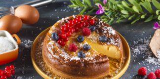 Cheesecake tradicional de forno - @TeleCulinária