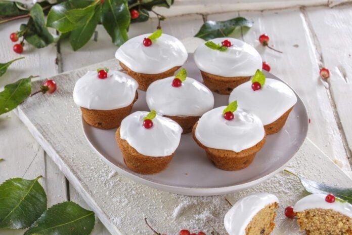Cupcakes de natal -@Teleculinaria