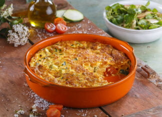 Omelete de forno -@Teleculinaria