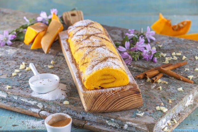 Torta de abobora e canela -@Teleculinaria
