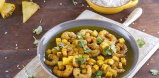 Camarões com ananás e gengibre - @TeleCulinária