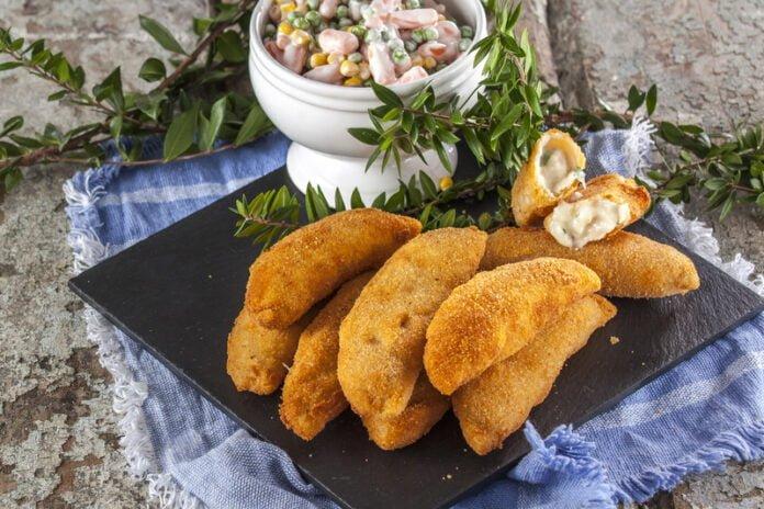 Rissóis de peixe - @TeleCulinária