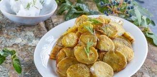 Batata-doce com óleo de coco
