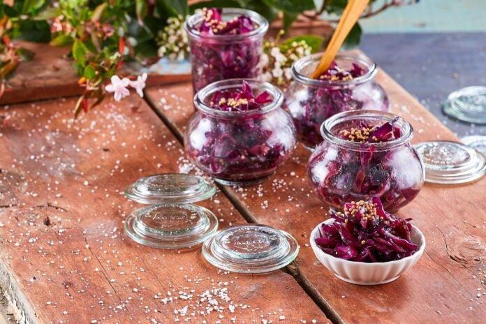 Chutney de couve-roxa