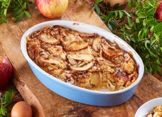 Doce de maçã de forno
