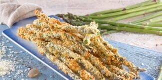 Espargos crocantes