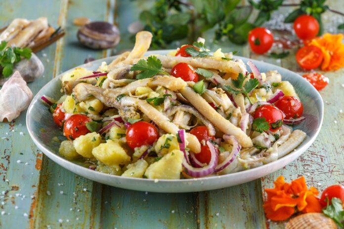 Salada de lingueirão