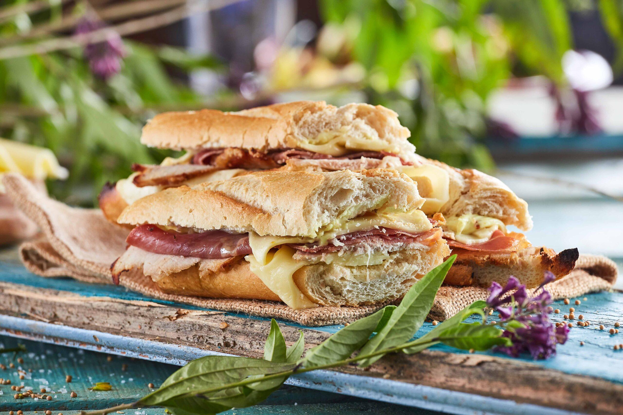Sanduíche Cubana