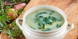 Sopa de espinafres