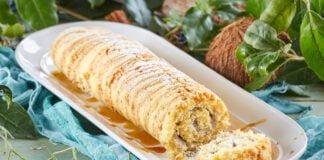 Torta de coco e alfazema